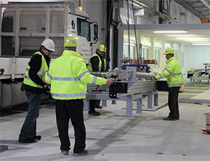 Synchrotron components arrive at SOLARIS