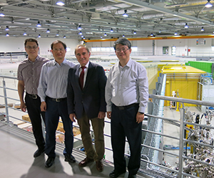 Scientists from the Chinese Academy of Sciences visit the SOLARIS synchrotron
